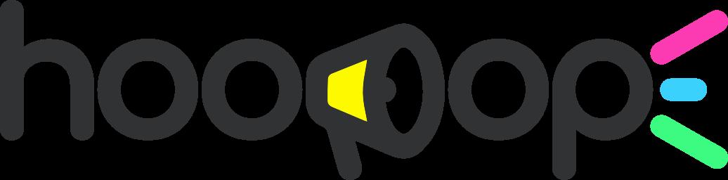 Logo d'hoopop avec le texte complet